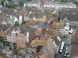View from Strasbourg cathedral