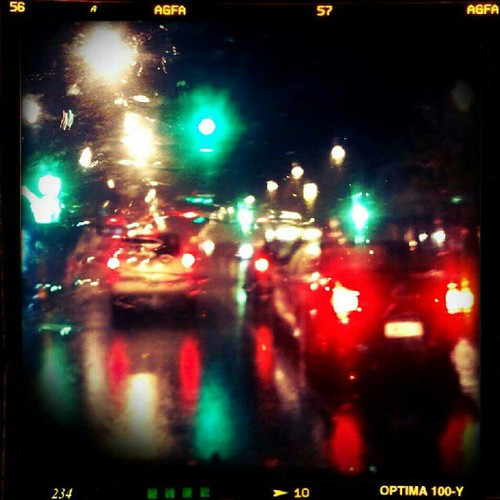 Wet Drive Home by teachernz