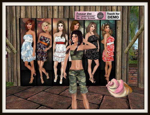 ~Sassy!~ Summer Camo - SFF Gift by Cherokeeh Asteria
