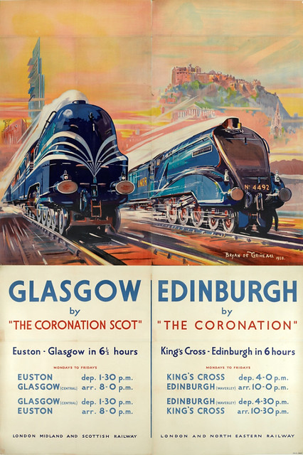 """Coronation"" and ""Coronation Scot"" Billboard, 1938"