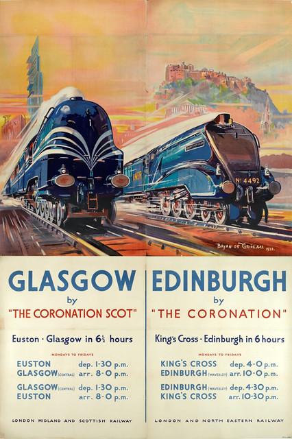 """""""Coronation"""" and """"Coronation Scot"""" Billboard, 1938"""