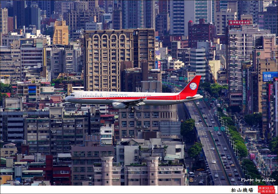 Sichuan Airlines / B-6598 / Taipei Songshan Airport