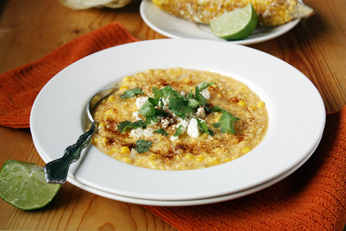 mexican grilled corn chowder.