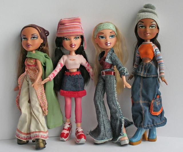 bratz 1 yasmin, jade, cloe, sasha | Flickr - Photo Sharing!