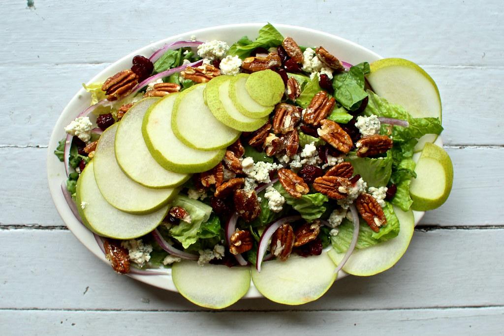 Salad Aerial