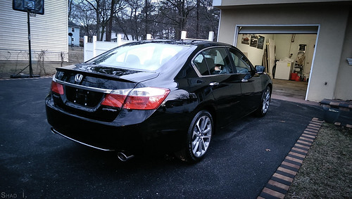 2014 honda accord sport detailed! (Crystal black pearl)