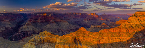 park sunset arizona panorama usa nature landscape nationalpark twilight grandcanyon canyon sean coloradoriver southrim schuster 2013