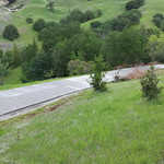 Long Driveway On Slope In Vacaville