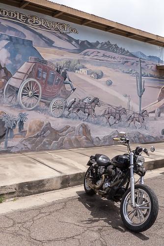 arizona usa mural az motorcycle benson arizonasaddleblanketco
