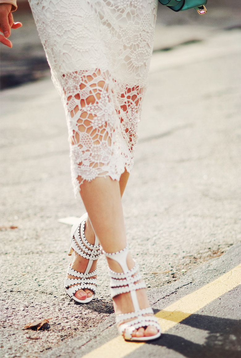 DIY Inspo: Lace Pencil Skirts | A Pair & A Spare