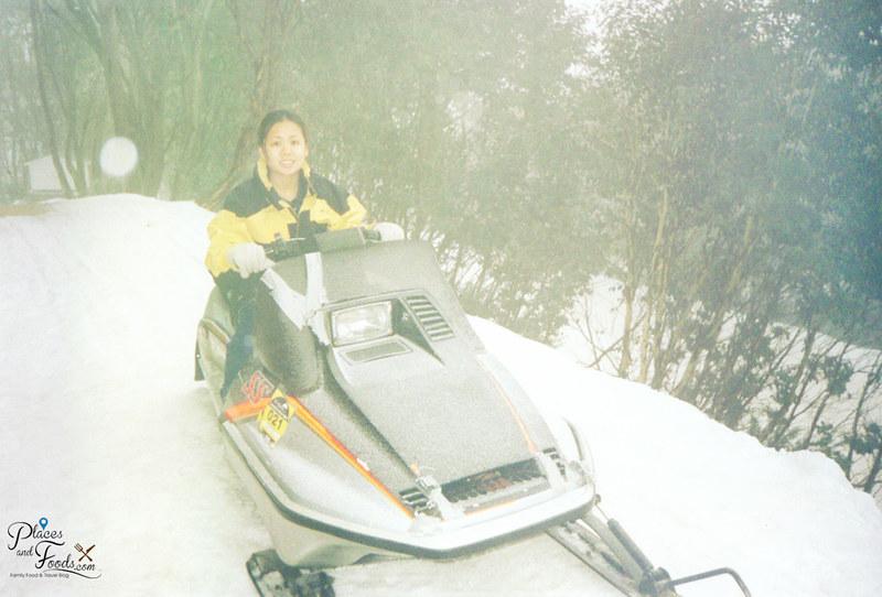 falls creek victoria rachel snow mobile