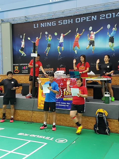 20160522 1st Interschool All Mixed Doubles Badminton Tournament