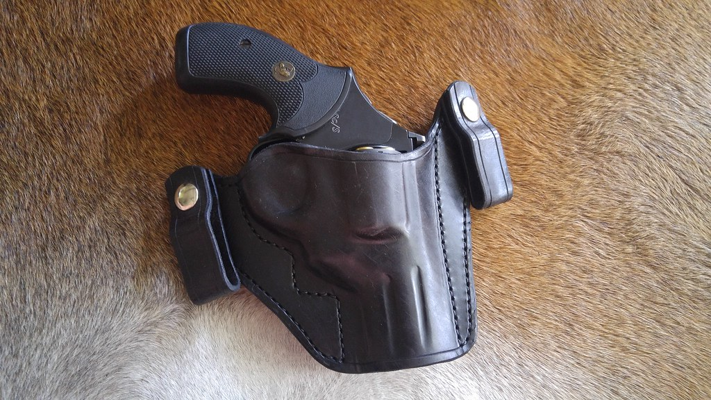 El Paso Saddlery and Lobo holsters for K/L snub. and Tucker/Glock