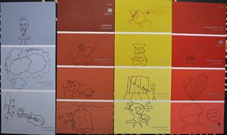Paint Chip Doodles OA