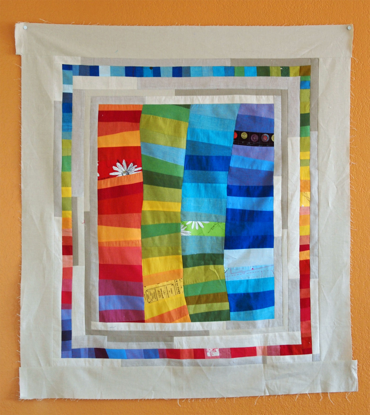 another rainbow quilt