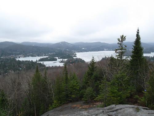 lake trail québec laurentides saintadolphedhoward lacsaintjoseph clavaire lespaysdenhaut