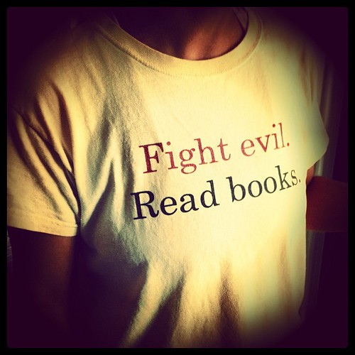 Starting to get serious #librarian #tshirt envy here. #books by catffeine