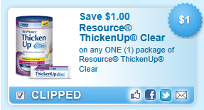 Resource Thickenup Clear Coupon