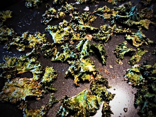 Crispy Kale Chips: Baked Kale