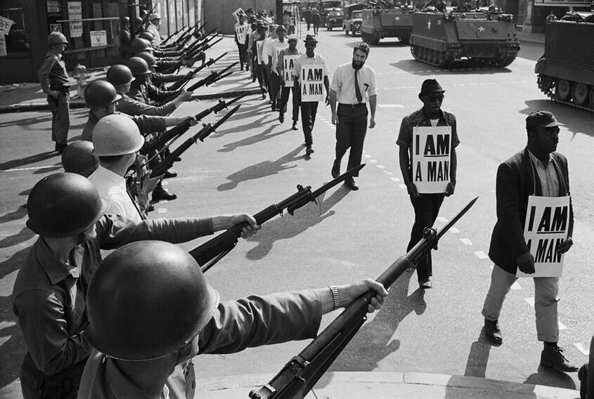 Yo también soy un hombre (Memphis, 1968)