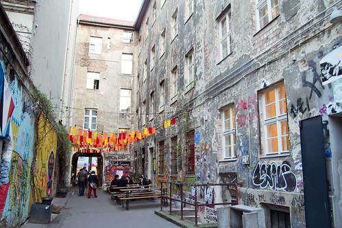 An alley of street art