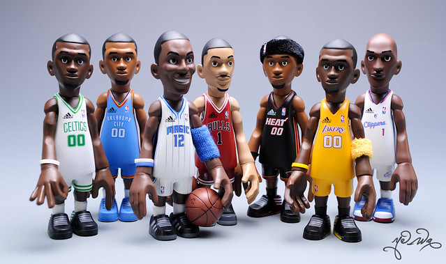 NBA Collectible Figures