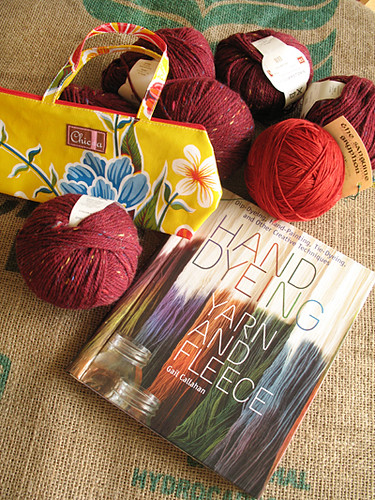 Yarns, Bag, Dyeing Book