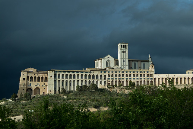 Storm Clouds Over Assisi