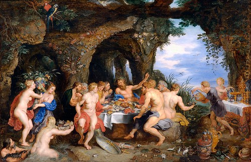Peter Paul Rubens & Jan Breughel the Elder - The Feast of Acheloüs [c.1615] by Gandalf's Gallery