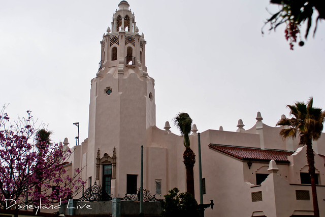 Buena Vista Street Construction - Carthay Circle Theatre