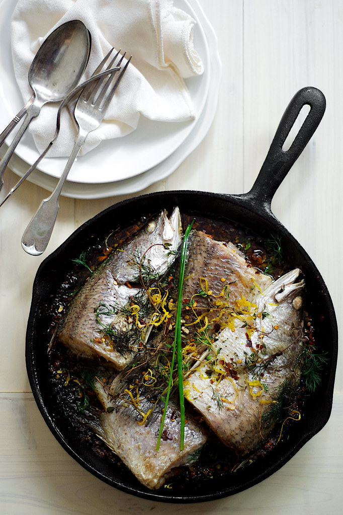 aegean turkish fish stew sea bass