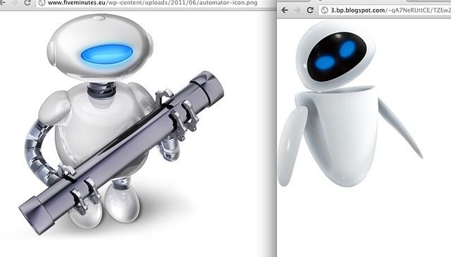 Header of Automator