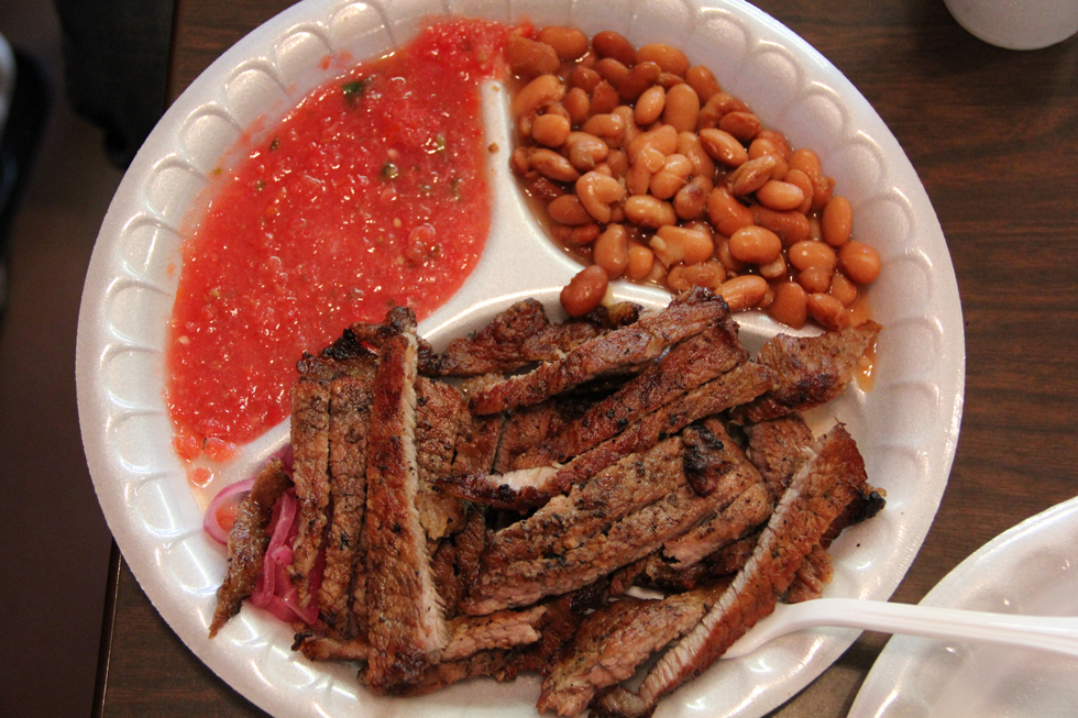 Beef, Beans, and Salsa