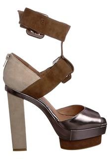 Jeffrey Campbell DRESSEN - Sandalette - silver:brown