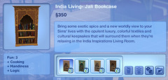 India Living- Jali Bookcase