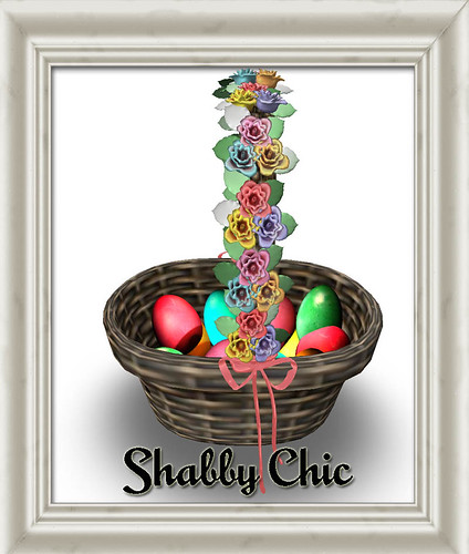 Shabby Chic Easter Basket by Shabby Chics