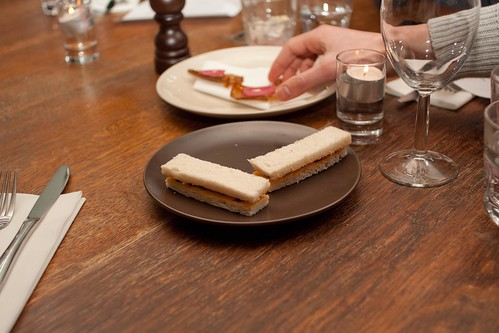 Beef Tendon & Pickled Daikon Sandwich