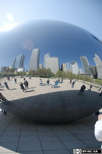 The Bean...with sunflare
