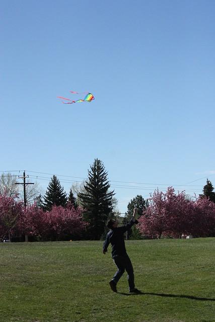 e running with kite