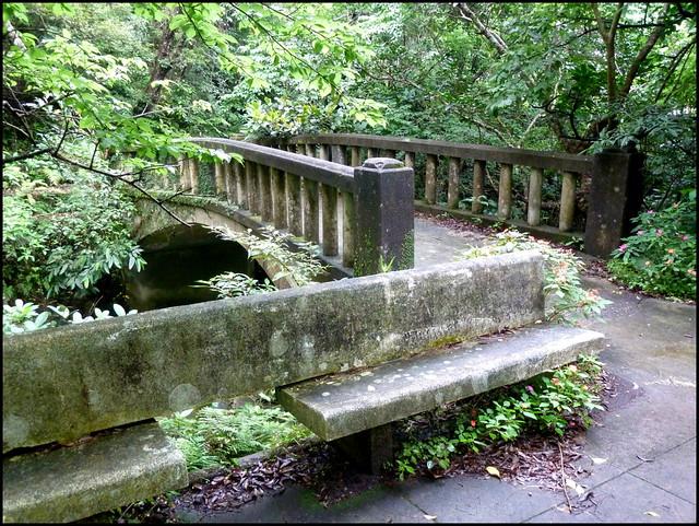 THE OLD BRIDGE OVER TODOROKI RIVER JUST BELOW THE FALLS