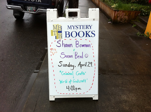 party at Murder by the Book!