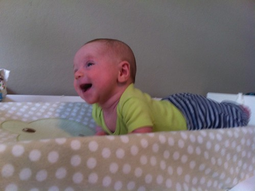 Smiley Tummy Time