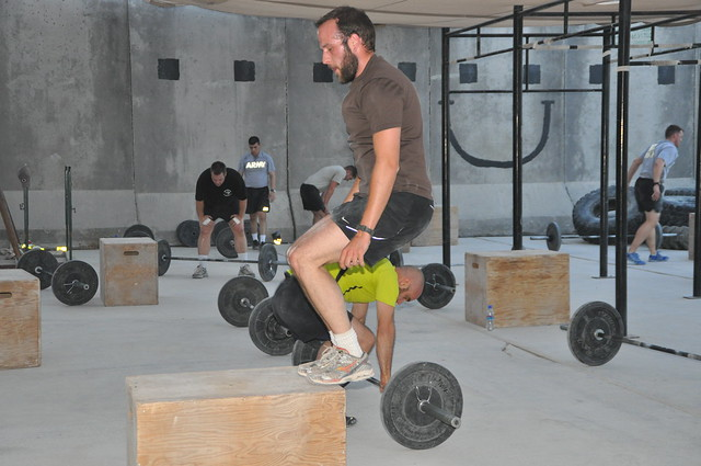 Kandahar Crossfit ANZAC Day