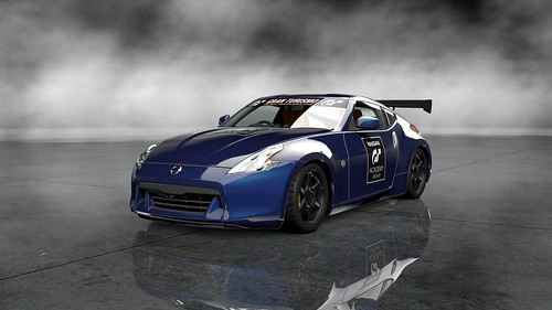 Nissan 370Z Tuned Car (GT Academy Version)_73Front