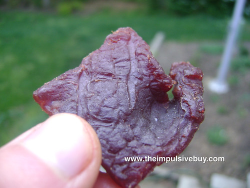 Blue Ox Beef Jerky Closeup 4