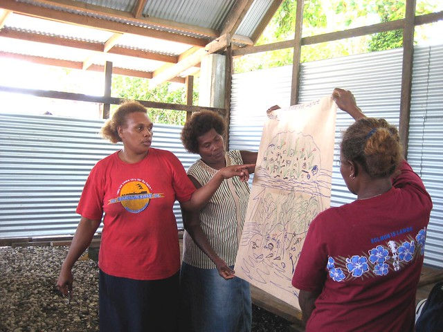Women's awareness workshop, Malaita, Solomon islands. Delvene Boso, 2011