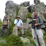 Col Nord bis de  Punta di Quercitella : pause pour les aventuriers de Quercitella