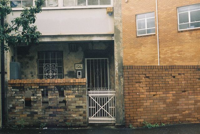 A rainy morning in Redfern