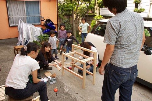 Renovation workshop vol.3 - with Neiborhood children