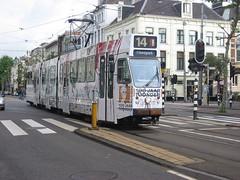 GVBA tram 781 Amsterdam Plantage Middenlaan